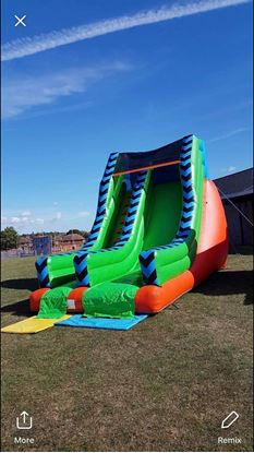 Picture of Mega bouncy slide