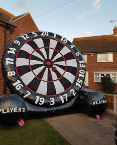 Picture of Giant football dartboard worksop